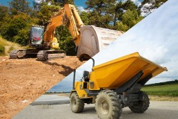 360 Excavator and Dumper Package
