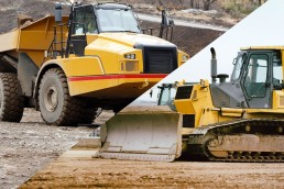 Articulated Dump Truck and Dozer Package